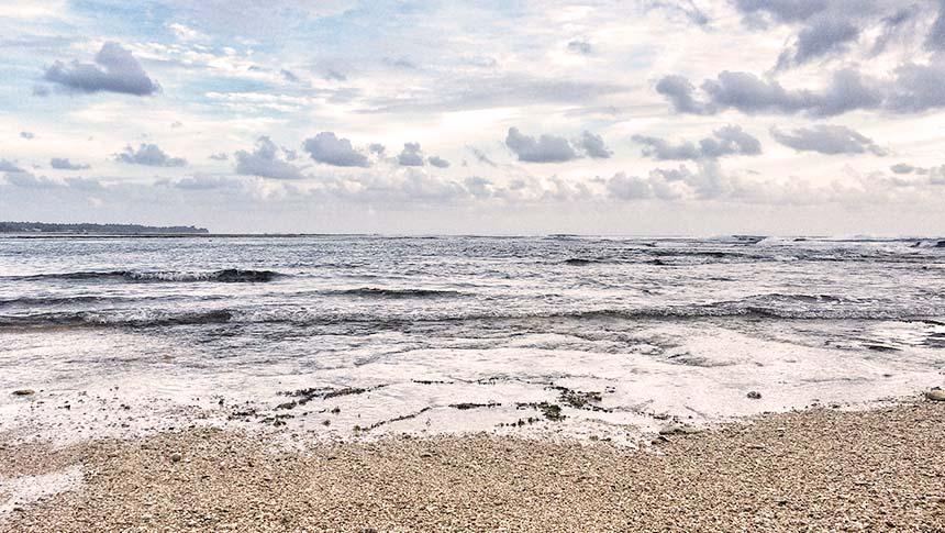 trip pantai ujung genteng curug cikaso