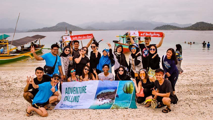 trip wisata pulau pahawang lampung