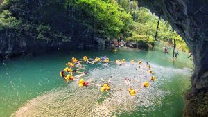 trip pangandaran green canyon