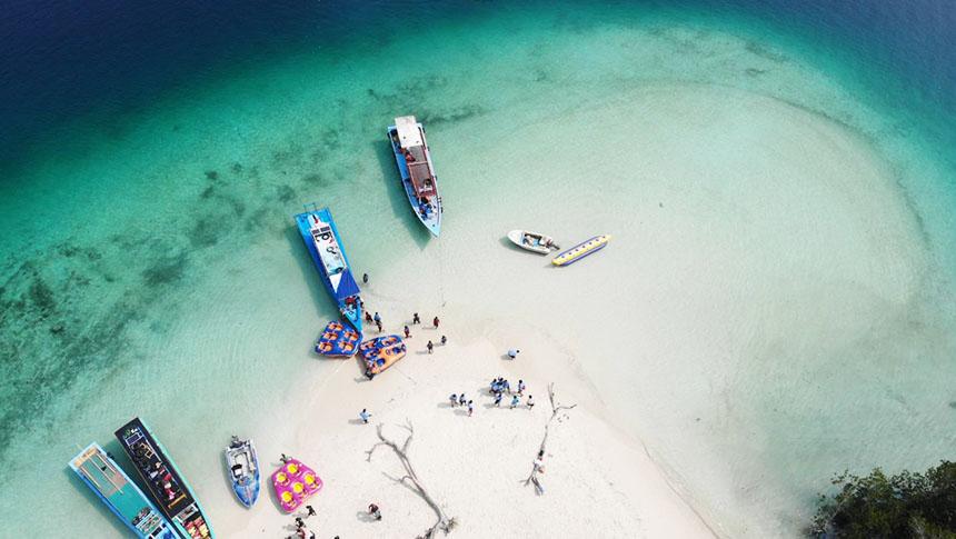 trip pulau pahawang lampung
